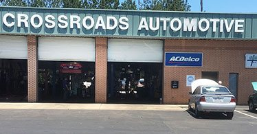 Services bays | Crossroads Automotive